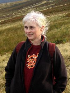 In the Pentland hills, October 2005. <i>Photo taken by Mark Hamilton</i>